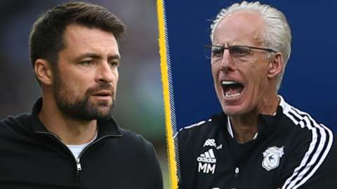 Russell Martin and Mick McCarthy