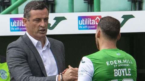 Jack Ross and Martin Boyle