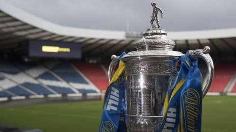 Scottish Cup at Hampden