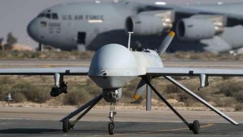 US air force Predator drone