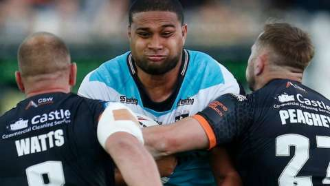 Chris Satae signed for Hull FC from New Zealand Warriors in 2019