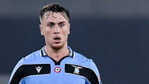 Lazio defender Patric