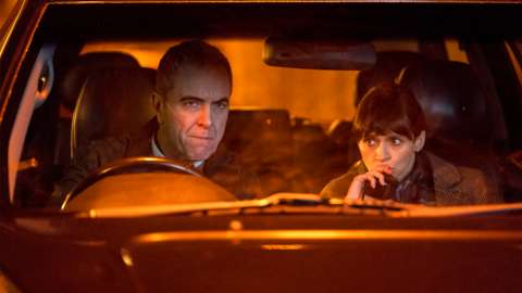 James Nesbitt and Niamh McGovern in Bloodlands
