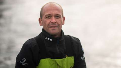 French sailor Kevin Escoffier
