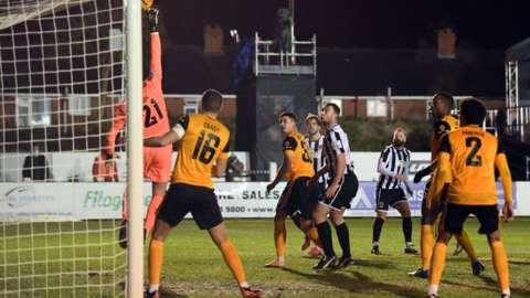 Chorley go close against Wolves