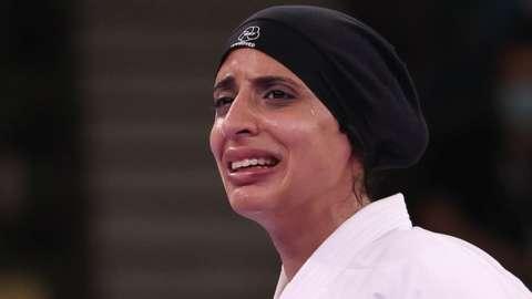 Egyptian karateka Feryal Abdelaziz