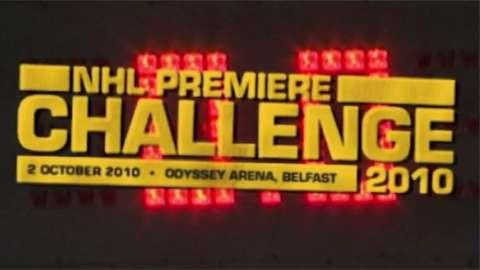 Top NHL side Boston Bruins met the Belfast Giants to celebrate the Northern Irish club's 10th birthday