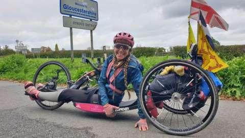 Mel Nicholls:, paralympian