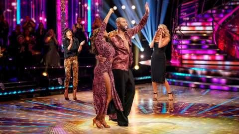 Ugo Monye and Oti Mabuse leaving Strictly Come Dancing