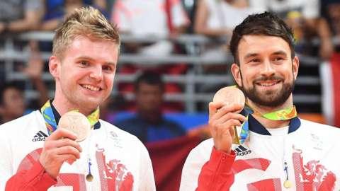 Chris Langridge and Marcus Ellis