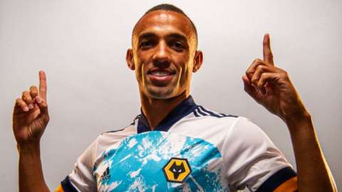 Marcal after signing for Wolves