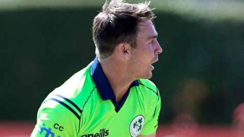 Curtis Campher was injured on his T20 debut for Ireland last week