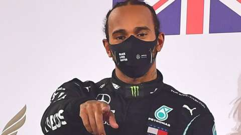 Lewis Hamilton won the BBC's Sports Personality of the Year in 2014