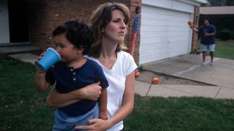 US families under pressure