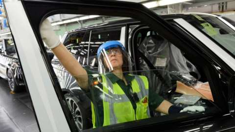Jaguar Land Rover worker