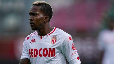 Nigeria's Henry Onyekuru in action for AS Monaco