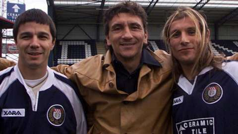 Beto Carranza, Ivano Bonetti and Claudio Caniggia