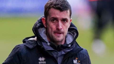 Port Vale interim manager Danny Pugh