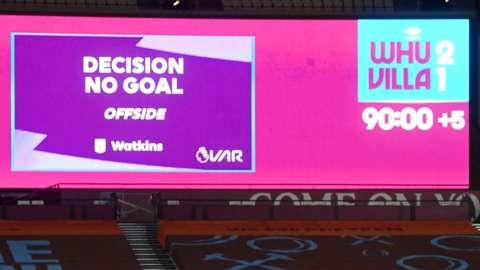 Decision - no goal