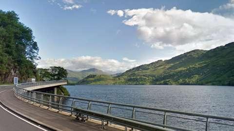 Loch Lomond at ardlui
