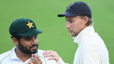 Azhar Ali and Joe Root