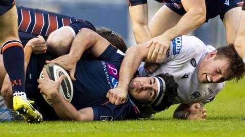 Glasgow and Edinburgh players