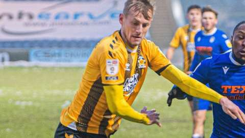 Harry Darling has made 73 appearances in his four and half years with Cambridge United