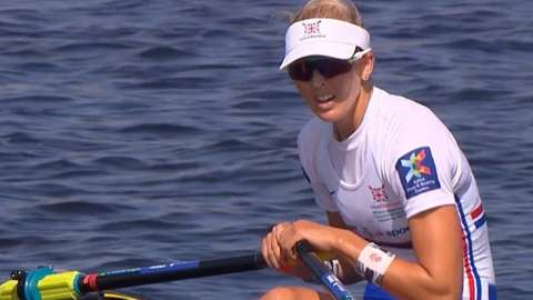 Great Britain's Vicky Thornley