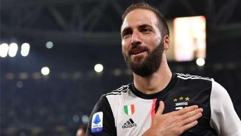 Gonzalo Higuain is leaving Juventus