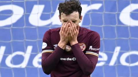 Hearts' Andy Irving
