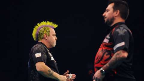Peter Wright and Jonny Clayton