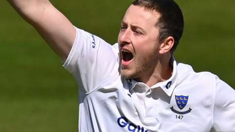 Sussex all-rounder Ollie Robinson