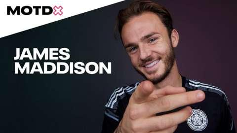 James Maddison speaks to MOTDx