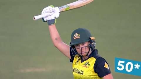 Alyssa Healy hits 50