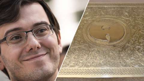 Martin Shkreli and Wu-Tang Clan albumn Once Upon a Time in Shaolin