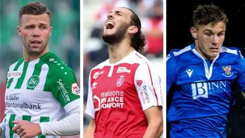 Florian Kamberi, Fraser Hornby, Callum Hendry