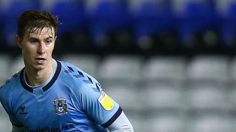 Ben Sheaf in action for Coventry