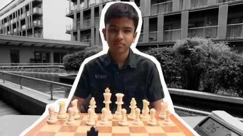 Chess champion Shrez