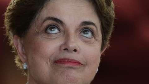 Brazil's ousted President Dilma Rousseff in Brasilia (02 September 2016)