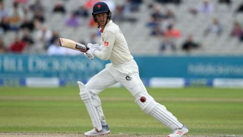 Lancashire's Keaton Jennings hit his second Roses Match ton of the summer