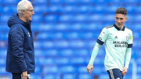 Mick McCarthy and Harry Wilson