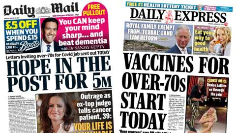Daily Mail and Daily Express
