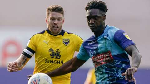 Oxford United and Wycombe are two of the four play-off sides in League One