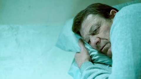 Sean Bean as Mark Cobden in a scene from BBC drama Time
