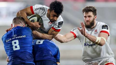 Action from Ulster against Leinster