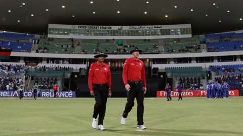 Ireland are playing all their games this month at the Zayed Cricket Stadium in Abu Dhabi