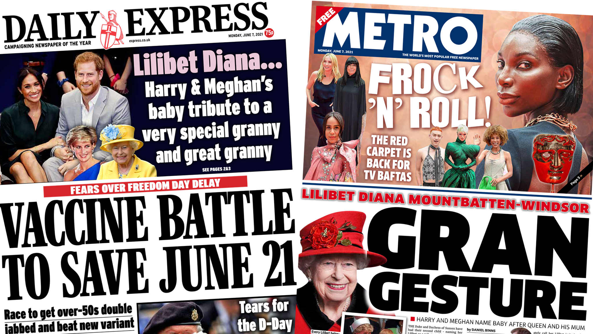 Express and Metro 7 June