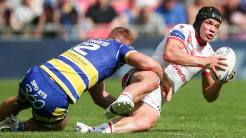 Warrington v St Helens