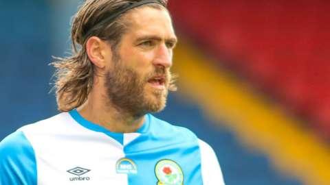 Danny Graham in action for Blackburn Rovers