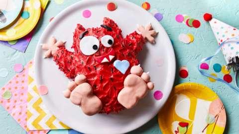 Love Monster cake